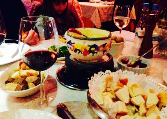 fondue queijo le chalet